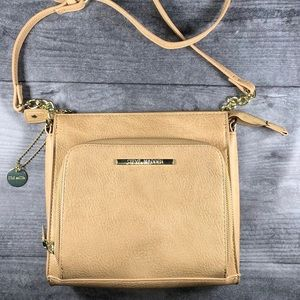 Steve Madden Tan Leather Crossbody Purse